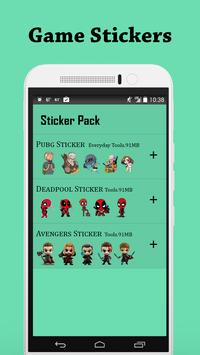 Game Sticker for WhatsApp WASticker poster