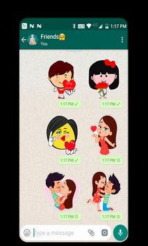 Kiss A Ginger Day Sticker screenshot 4