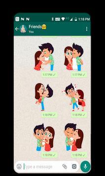 Kiss A Ginger Day Sticker screenshot 5