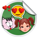 Love, Girly, Fun Stickers for WApp WAStickerApps icon