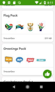ANC Stickers screenshot 4