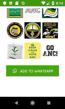 ANC Stickers screenshot 7