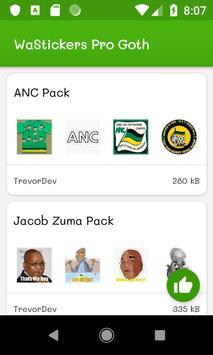 ANC Stickers screenshot 2