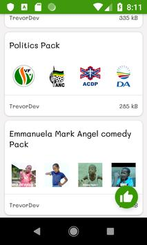ANC Stickers screenshot 3
