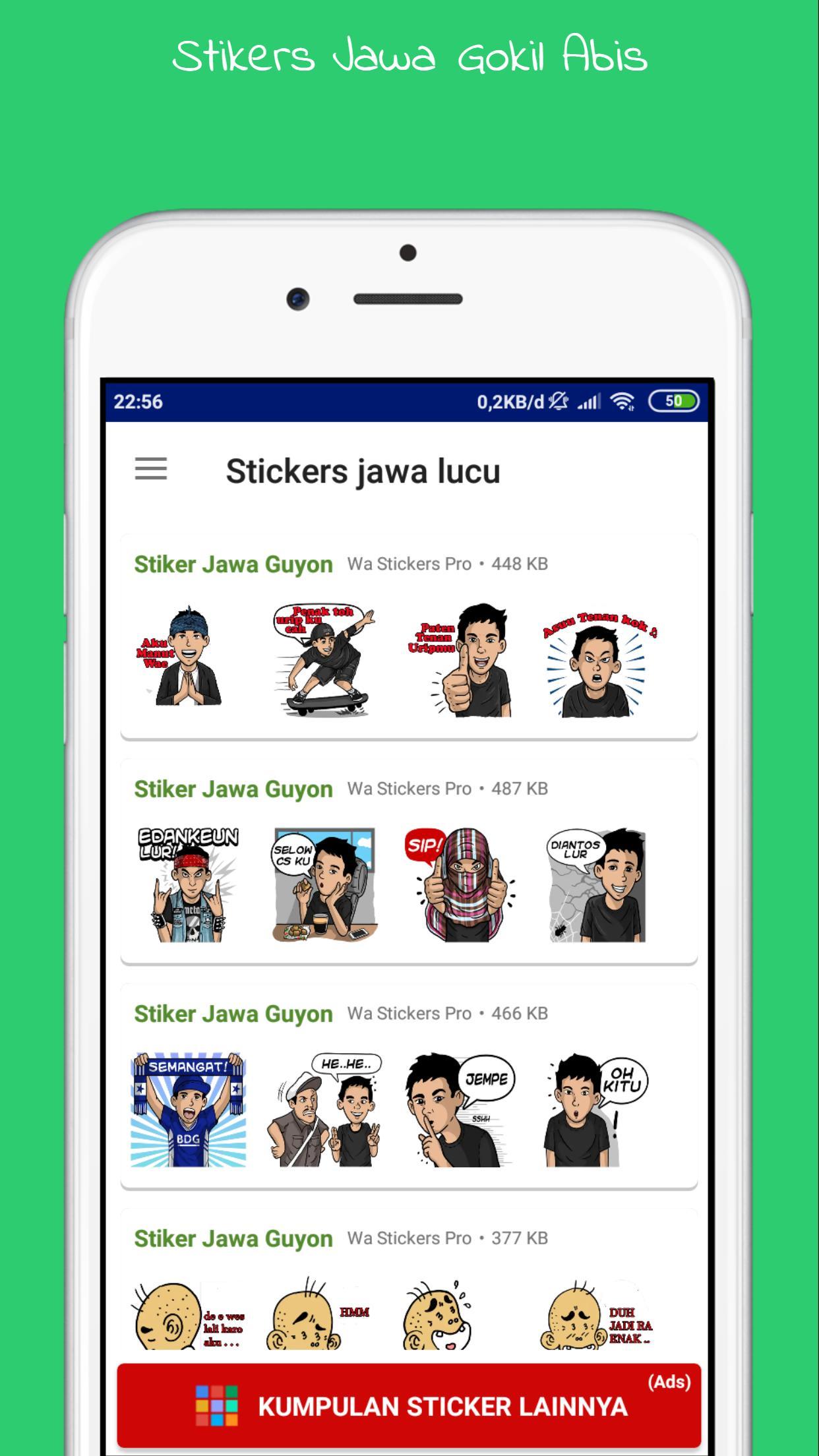 Stiker Jawa Lucu WAStickersApp Gokil For Android APK