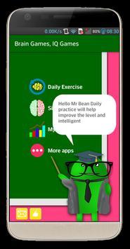 Brain Exercise Games - IQ test-poster