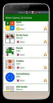 Brain Exercise Games - IQ test screenshot 9