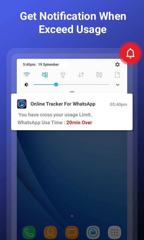 Online Tracker for WhatsApp : App Usage Tracker for Android - APK