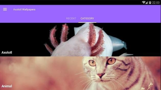 Axolotl Wallpapers screenshot 6