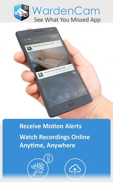 Home Security Camera WardenCam - reuse old phones screenshot 3