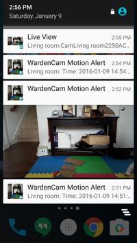 Home Security Camera WardenCam - reuse old phones screenshot 7