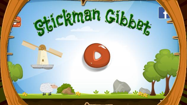 Stickman Shooting Game for Warriors Gibbets poster