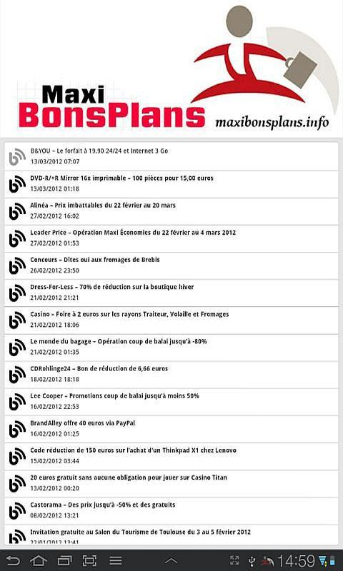Maxi Bons Plans For Android Apk Download