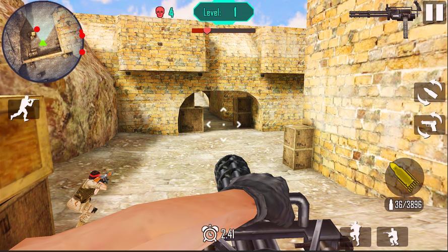 Terbaru, Perang Gun Tembak  - APK Download Game Android Terbaru