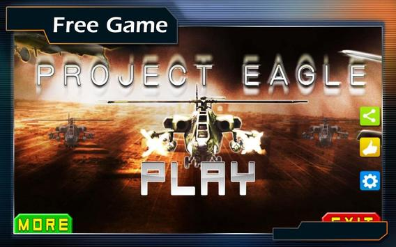 Project Eagle 3D poster