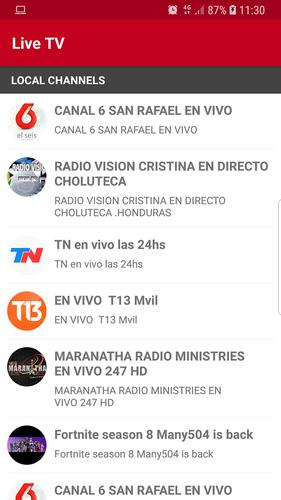 TV Honduras for Android - APK Download