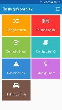Ôn thi giấy phép lái xe GPLX-poster