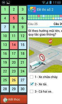 Ôn thi giấy phép lái xe GPLX screenshot 2