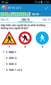 Ôn thi giấy phép lái xe GPLX screenshot 4