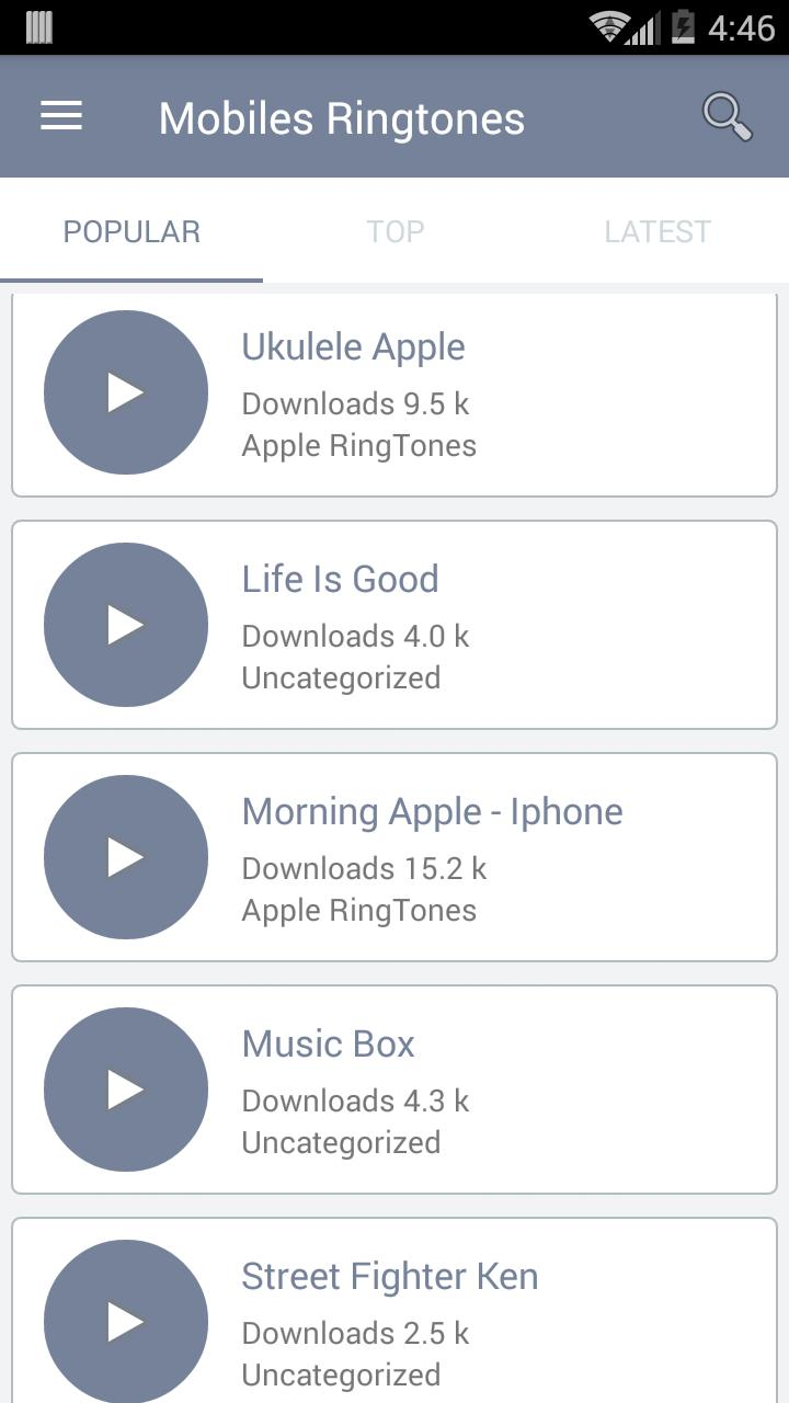 Mobiles Ringtones for Android - APK Download
