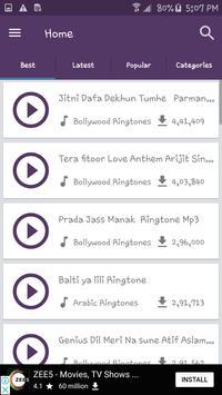 Ringtones Lab-Download All Mp3 ringtones & rington screenshot 1
