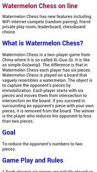 Watermelon Chess on line screenshot 4