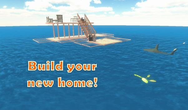 Raft Survival Simulator screenshot 8
