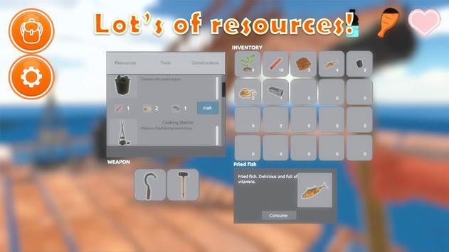 Raft Survival Simulator screenshot 15