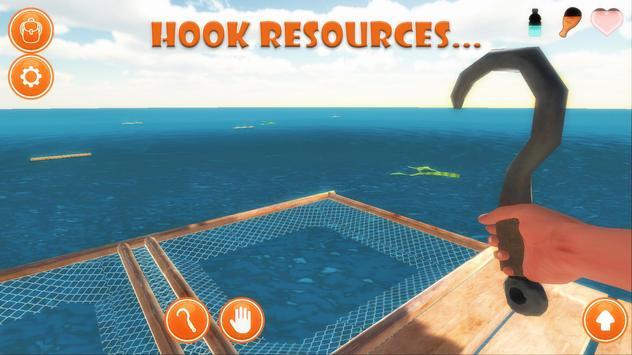 Raft Survival Simulator screenshot 2