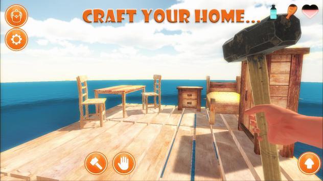 Raft Survival Simulator screenshot 3