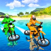 Waterpark Bike Racing أيقونة