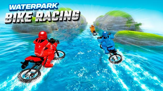 Waterpark Bike Racing تصوير الشاشة 4