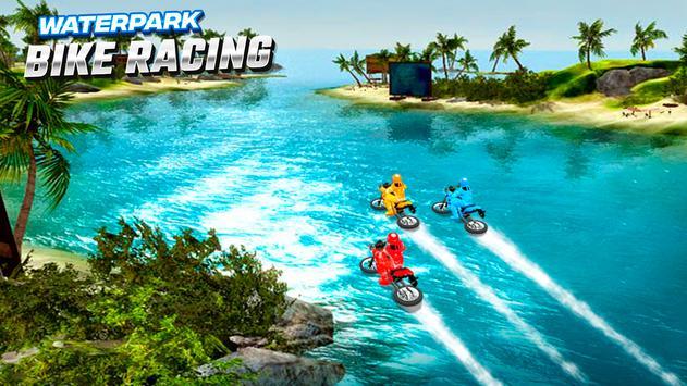 Waterpark Bike Racing تصوير الشاشة 5