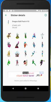 +500 Anime Stickers for Whatsapp - WAStickerApps poster