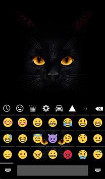 Dark Cat Animated Keyboard Live Wallpaper For Android Apk Download
