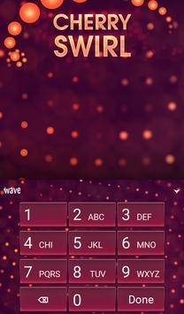 Cherry Swirl Animated Keyboard screenshot 4