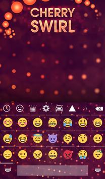 Cherry Swirl Animated Keyboard screenshot 3