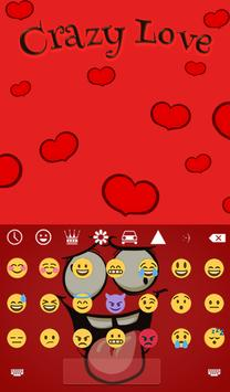 Crazy Love Animated Keyboard + Live Wallpaper screenshot 3