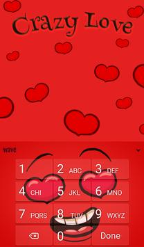 Crazy Love Animated Keyboard + Live Wallpaper screenshot 4