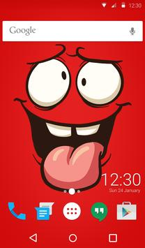 Crazy Love Animated Keyboard + Live Wallpaper screenshot 5