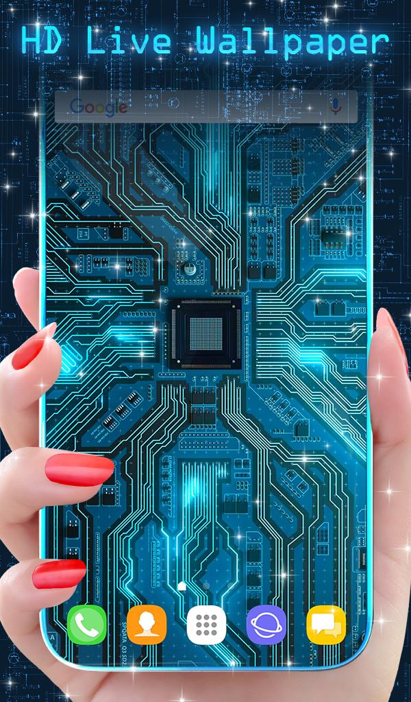Cyber Circuit Live Wallpaper for Android - APK Download