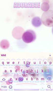 Adorable Animated Keyboard + Live Wallpaper screenshot 1