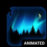 Aurora Animated Keyboard + Live Wallpaper