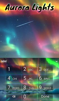 Aurora Light Animated Keyboard + Live Wallpaper screenshot 4