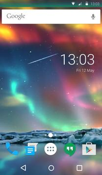 Aurora Light Animated Keyboard + Live Wallpaper screenshot 5