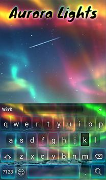 Aurora Light Animated Keyboard + Live Wallpaper screenshot 1