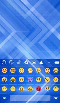Blue Arrows Animated Keyboard + Live Wallpaper screenshot 3