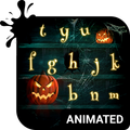 Halloween Animated Keyboard + Live Wallpaper