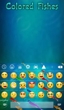 Colored Fishes Animated Keyboard + Live Wallpaper screenshot 3