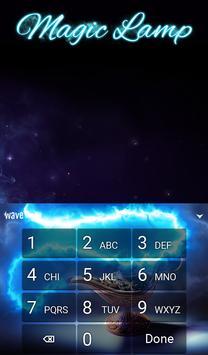 Magic Lamp Animated Keyboard + Live Wallpaper screenshot 4